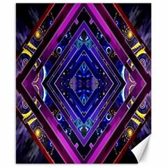 Galaxy Canvas 8  X 10  (unframed) by Rbrendes