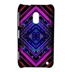 Galaxy Nokia Lumia 620 Hardshell Case by Rbrendes