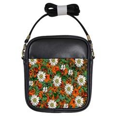 Flowers Girl s Sling Bag by Rbrendes