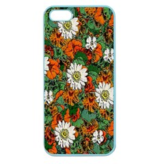 Flowers Apple Seamless Iphone 5 Case (color) by Rbrendes