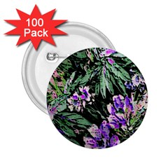 Garden Greens 2.25  Button (100 pack) by Rbrendes