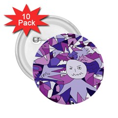 Fms Confusion 2 25  Button (10 Pack) by FunWithFibro