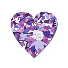 Fms Confusion Magnet (heart) by FunWithFibro