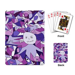 Fms Confusion Playing Cards Single Design by FunWithFibro