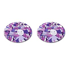 Fms Confusion Cufflinks (oval) by FunWithFibro