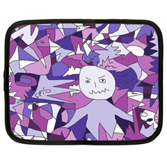 Fms Confusion Netbook Sleeve (large) by FunWithFibro