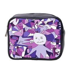 Fms Confusion Mini Travel Toiletry Bag (two Sides) by FunWithFibro