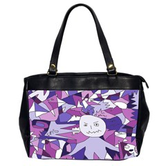 Fms Confusion Oversize Office Handbag (two Sides) by FunWithFibro