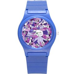 Fms Confusion Plastic Sport Watch (small) by FunWithFibro