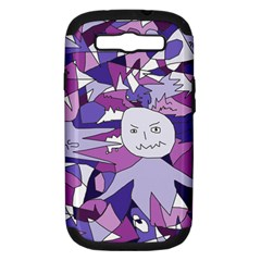 Fms Confusion Samsung Galaxy S Iii Hardshell Case (pc+silicone) by FunWithFibro