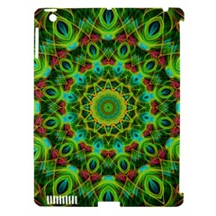 Peacock Feathers Mandala Apple Ipad 3/4 Hardshell Case (compatible With Smart Cover) by Zandiepants