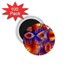 Winter Crystal Palace, Abstract Cosmic Dream 1 75  Magnet (100 Pack)  by DianeClancy