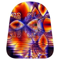 Winter Crystal Palace, Abstract Cosmic Dream School Bag (small) by DianeClancy