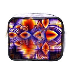 Winter Crystal Palace, Abstract Cosmic Dream Mini Toiletries Bag (one Side) by DianeClancy