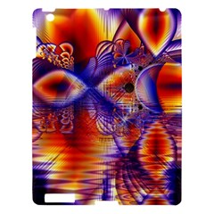 Winter Crystal Palace, Abstract Cosmic Dream Apple Ipad 3/4 Hardshell Case by DianeClancy