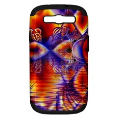 Winter Crystal Palace, Abstract Cosmic Dream Samsung Galaxy S Iii Hardshell Case (pc+silicone) by DianeClancy