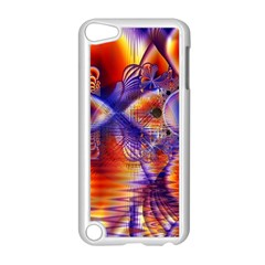 Winter Crystal Palace, Abstract Cosmic Dream Apple Ipod Touch 5 Case (white) by DianeClancy