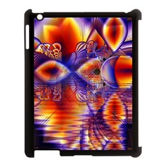 Winter Crystal Palace, Abstract Cosmic Dream Apple Ipad 3/4 Case (black) by DianeClancy