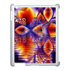 Winter Crystal Palace, Abstract Cosmic Dream Apple Ipad 3/4 Case (white) by DianeClancy