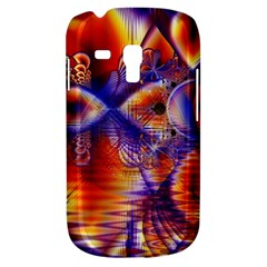 Winter Crystal Palace, Abstract Cosmic Dream Samsung Galaxy S3 Mini I8190 Hardshell Case by DianeClancy