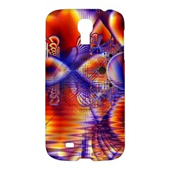 Winter Crystal Palace, Abstract Cosmic Dream Samsung Galaxy S4 I9500/i9505 Hardshell Case by DianeClancy