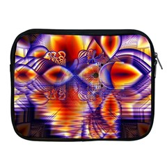 Winter Crystal Palace, Abstract Cosmic Dream Apple Ipad 2/3/4 Zipper Case by DianeClancy