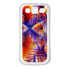 Winter Crystal Palace, Abstract Cosmic Dream Samsung Galaxy S3 Back Case (white) by DianeClancy