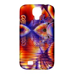 Winter Crystal Palace, Abstract Cosmic Dream Samsung Galaxy S4 Classic Hardshell Case (pc+silicone) by DianeClancy