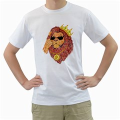 Lion King Men s T Shirt (white)  by Contest1736674