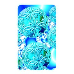 Blue Ice Crystals, Abstract Aqua Azure Cyan Memory Card Reader (rectangular) by DianeClancy