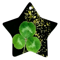 Clover Star Ornament by Rbrendes