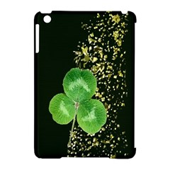 Clover Apple Ipad Mini Hardshell Case (compatible With Smart Cover) by Rbrendes