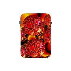 Flame Delights, Abstract Red Orange Apple Ipad Mini Protective Sleeve by DianeClancy