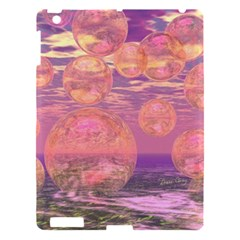 Glorious Skies, Abstract Pink And Yellow Dream Apple Ipad 3/4 Hardshell Case by DianeClancy