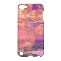 Glorious Skies, Abstract Pink And Yellow Dream Apple Ipod Touch 5 Hardshell Case by DianeClancy