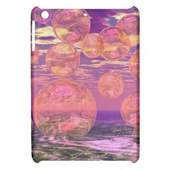 Glorious Skies, Abstract Pink And Yellow Dream Apple Ipad Mini Hardshell Case by DianeClancy