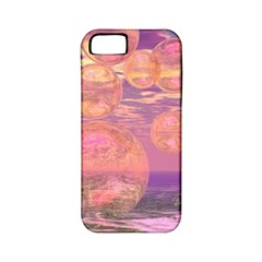 Glorious Skies, Abstract Pink And Yellow Dream Apple Iphone 5 Classic Hardshell Case (pc+silicone) by DianeClancy