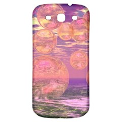 Glorious Skies, Abstract Pink And Yellow Dream Samsung Galaxy S3 S Iii Classic Hardshell Back Case by DianeClancy