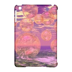 Glorious Skies, Abstract Pink And Yellow Dream Apple Ipad Mini Hardshell Case (compatible With Smart Cover) by DianeClancy