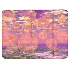 Glorious Skies, Abstract Pink And Yellow Dream Samsung Galaxy Tab 7  P1000 Flip Case by DianeClancy