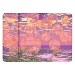 Glorious Skies, Abstract Pink And Yellow Dream Samsung Galaxy Tab 8 9  P7300 Flip Case by DianeClancy