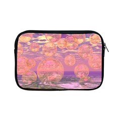 Glorious Skies, Abstract Pink And Yellow Dream Apple Ipad Mini Zippered Sleeve by DianeClancy