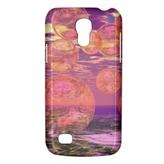 Glorious Skies, Abstract Pink And Yellow Dream Samsung Galaxy S4 Mini (gt I9190) Hardshell Case  by DianeClancy