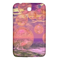 Glorious Skies, Abstract Pink And Yellow Dream Samsung Galaxy Tab 3 (7 ) P3200 Hardshell Case  by DianeClancy
