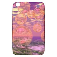 Glorious Skies, Abstract Pink And Yellow Dream Samsung Galaxy Tab 3 (8 ) T3100 Hardshell Case  by DianeClancy