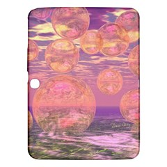 Glorious Skies, Abstract Pink And Yellow Dream Samsung Galaxy Tab 3 (10 1 ) P5200 Hardshell Case  by DianeClancy