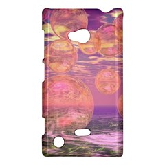 Glorious Skies, Abstract Pink And Yellow Dream Nokia Lumia 720 Hardshell Case by DianeClancy