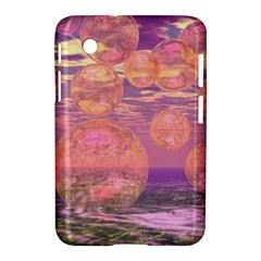Glorious Skies, Abstract Pink And Yellow Dream Samsung Galaxy Tab 2 (7 ) P3100 Hardshell Case  by DianeClancy