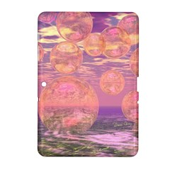 Glorious Skies, Abstract Pink And Yellow Dream Samsung Galaxy Tab 2 (10 1 ) P5100 Hardshell Case  by DianeClancy