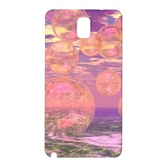 Glorious Skies, Abstract Pink And Yellow Dream Samsung Galaxy Note 3 N9005 Hardshell Back Case by DianeClancy